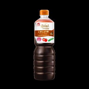 <b>น้ำสลัดซีอิ๊วญี่ปุ่น<br>ผสมงาคั่ว</br></b>