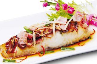 <b>ปลากระพงนึ่ง เมนทซึยุ</b>
