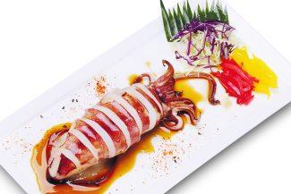 <b>ปลาหมึกกล้วย เทริยากิ</b>