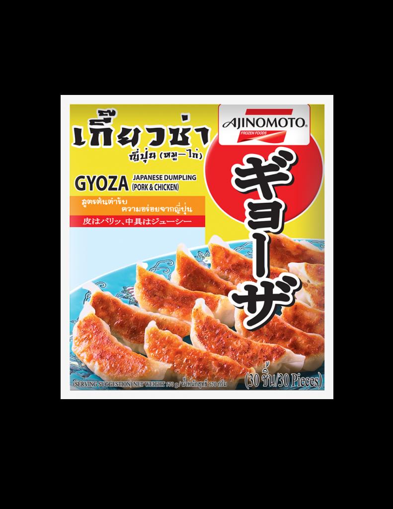 <b>เกี๊ยวซ่าญี่ปุ่น (หมู-ไก่) </br>19 กรัม 30 ชิ้น</b>